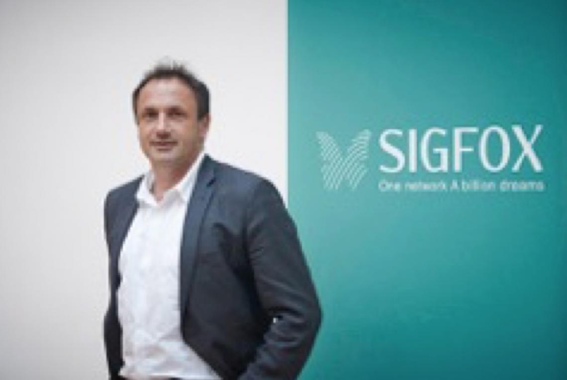 Ludovic Le Moan, Directeur Général de SIGFOX