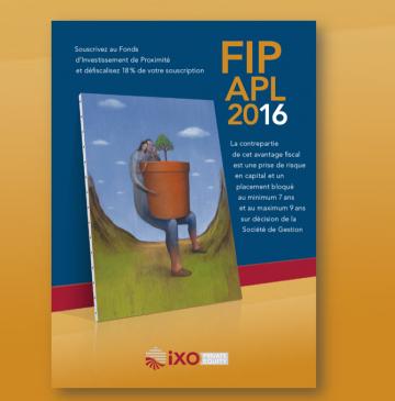 LANCEMENT DU FIP APL 2016