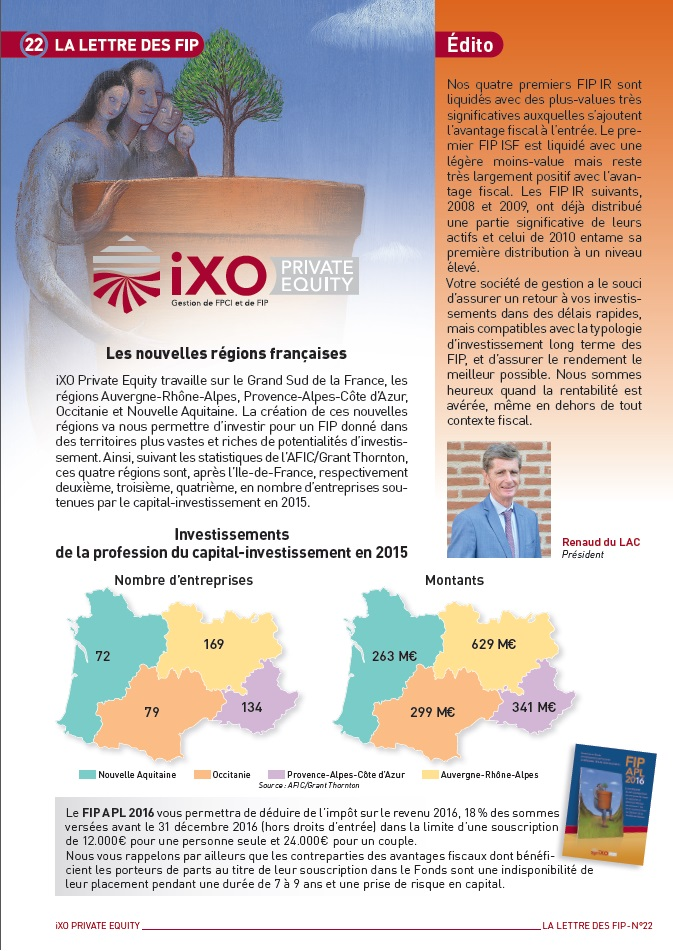 Lettre FIP iXO n°22