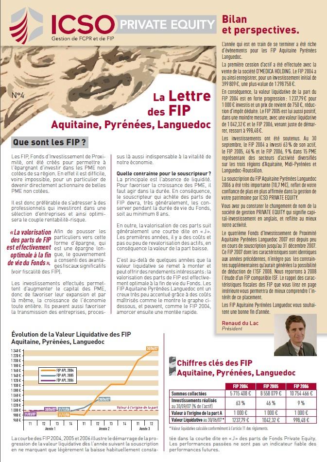 Lettre FIP iXO n°4