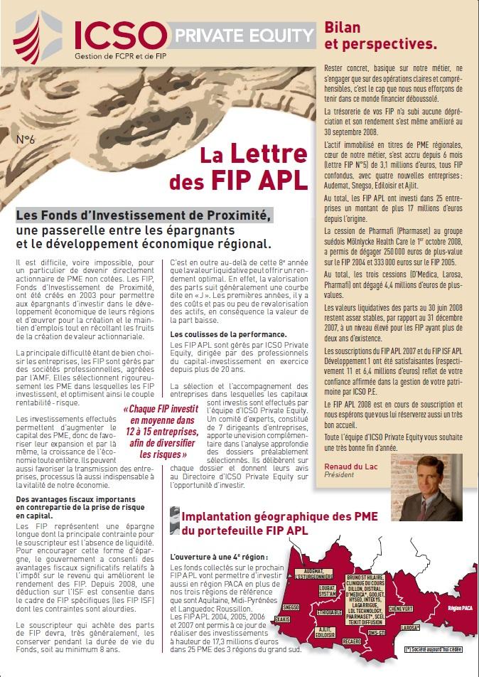 Lettre FIP iXO n°6