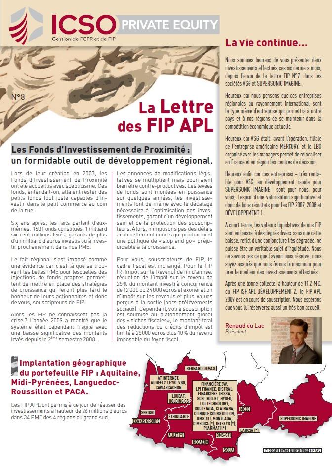 Lettre FIP iXO n°8