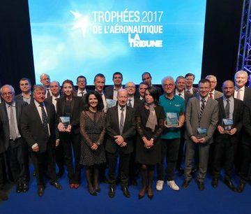 La Tribune : Nicolas Pobeau (Recaero) , élu manager de l'année 2017 au Trophées de l'aéronautique.